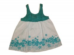 "Top ""Blue Flowers"" • Taille 128 • ♀"