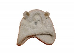 "Bonnet ""White Bear"" • Taille 86 (48 cm) • ♂"