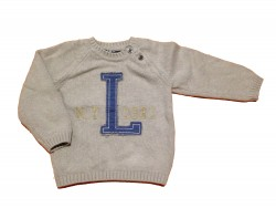 "Pull ""L N.Y.1981"" • Taille 74 • ♂"