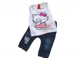 "Ensemble ""Hello Kitty"" • Taille 80 • ♀"