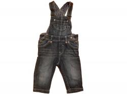 """Pantalon Salopette """"Jeans"""" • T. 74 • ♂♀"""