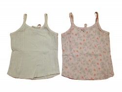 """2 Tops """"Butterfly + White"""" • T. 128 • ♀"""