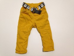 "Pantalon ""Yellow bear"" - doublé • T. 74 • ♂"