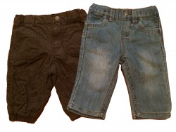 "Hose ""Jeans & Brown"""