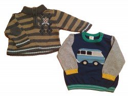 "2 Pullover ""On the road"""