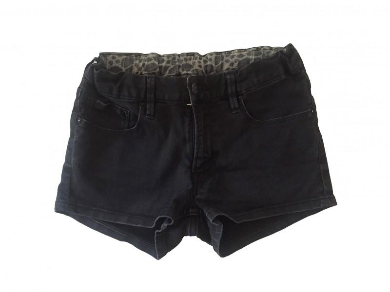 Short H&M en jeans noir