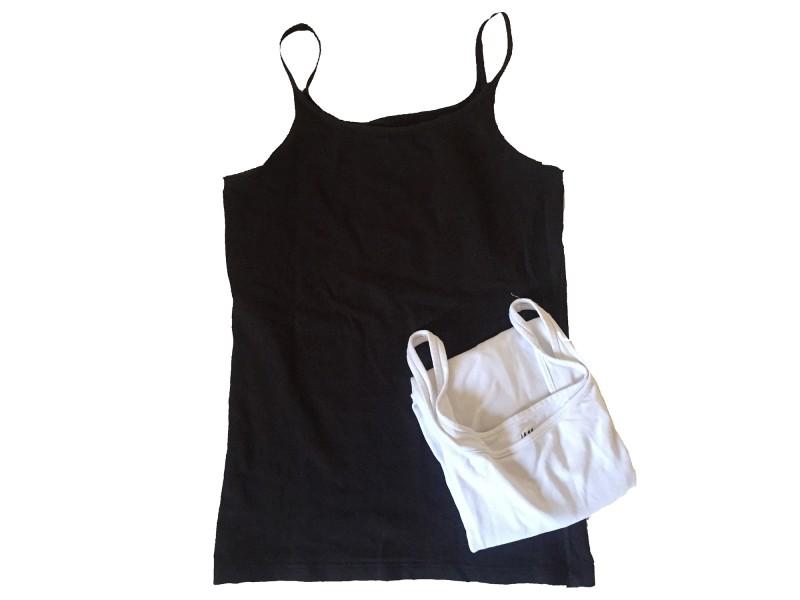 Lot de 2 T-shirts H&M basic sans manches