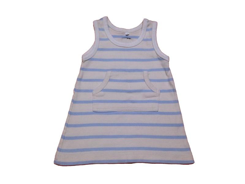 """Kleid """"Lined blue"""""""