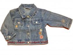 """Jacke jeans """"Flowers"""""""