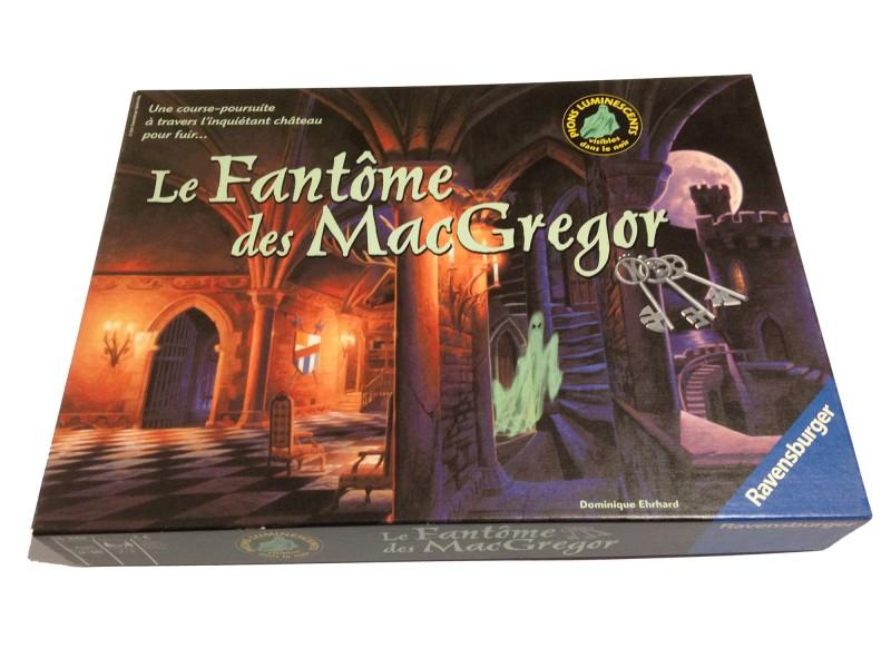 """Jeux """"Le fantôme des Mac Gregor"""""""