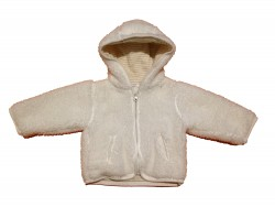 "Winter Jacke ""White"""