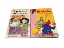 "2 livres ""Paddington""+""Sophie veut vivre sa vie"""