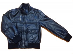 "Veste en simili cuir ""Black 52"""