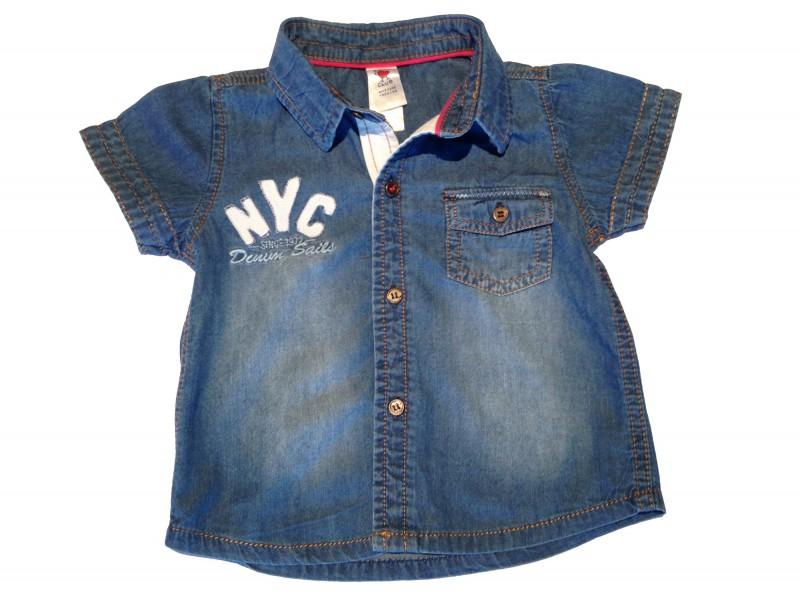 "Chemise manches courtes ""NYC"""