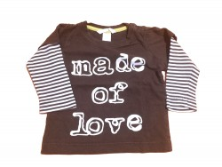 "Pull ""made for love"" • Taille 80 • ♂"